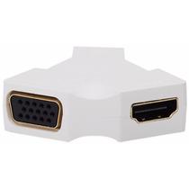 Mini Display Port 1.2 Hdmi + Vga Conversor Mac Book Air Pro