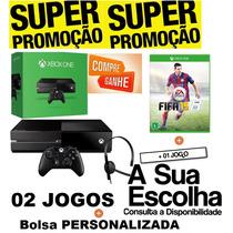 Console Microsoft Xbox One 500 Gb + Jogo + Brinde