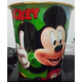 Envase Para Cotufas O Papelera Mickey, Pato Donald , Disney