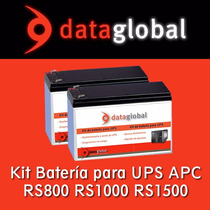 Bateria Apc Rs1500 Rs1000 Rs800 Br1500 Br1000 Br800