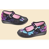 Zapatos Hot Chocolate Design Mini Dark Butterfly Talla 22