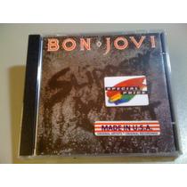 Bon Jovi Slippery When Wet (cd Lacrado Fabrica) Made In Usa