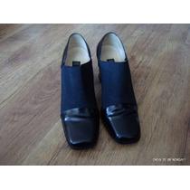 Zapatos Gacel Cuero Elastico,oficina 37