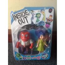 Muñecas Pelicula Intensamente,pack De 2: Alegria Y Furia