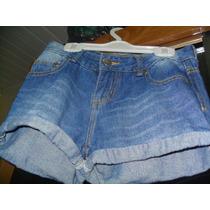 Short Jeans Miss Young (lojas Marisa) Femino Infantil