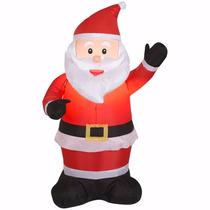 Inflable Navideño Figura De Santa