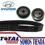 Kit Correa Tiempo Hyundai Tucson / Elantra 2.0 (2000 A 2007)