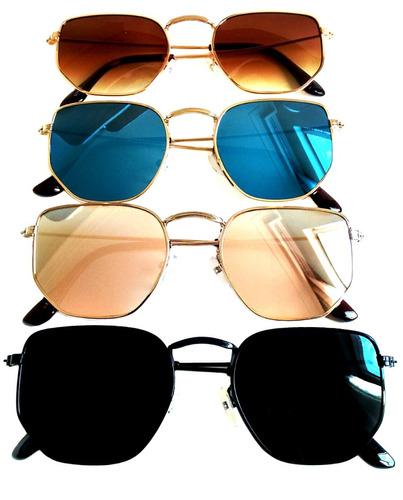 d549b96c4593c óculos de sol feminino hexagonal verão 2019 super promoção. Carregando zoom.