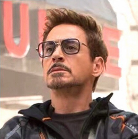 Lentes Tony Stark Avengers Infinity War Matsuda Vengadores