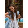 Disfraz Alicia En El Pais De Las Maravillas Vestido Lujo