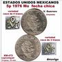 5 Pesos 1976 Mo. Fecha Chica Variedades En Ceca