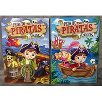 Libro Colorear Actividades Primaria Mayoreo Pirata 50pza 1