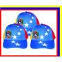 Gorras Tricolor Venezuela, 8 Estrellas, Al Mayor