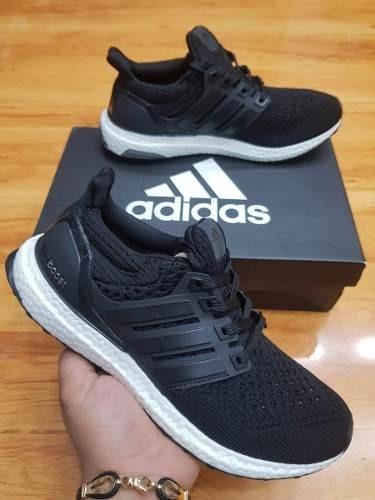 83044c6b3b0cb Tenis Zapatillas adidas Ultra Boost Negro Hombre Indicy -   149.900 en  Mercado Libre