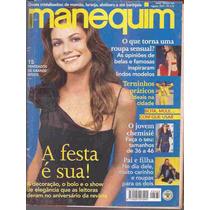Manequim Nº 488 Agosto De 2000 Com Moldes Festa