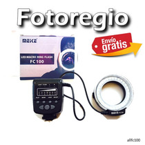 Anillo De Luz Fc 100 Para Canon 650d 600d 60d 50d 40d 30d
