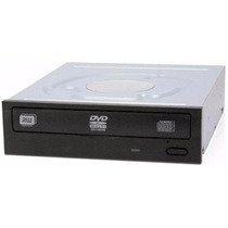 Leitor De Cd/dvd-w P/ Desktop Pc Sata Preto Com Cabos