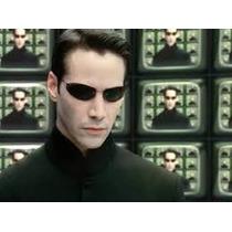 Óculos De Sol Escuro Matrix New Neo - Frete Grátis