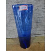 #18128 - Vaso Vidro Azul Transparente!!!