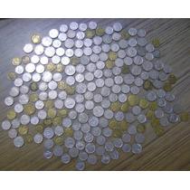 Lote 200 Monedas Antiguas Argentina Niquel - Torito