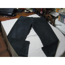Pantalon Jeans Hugo Boss Talla W42 L32 Color Negro