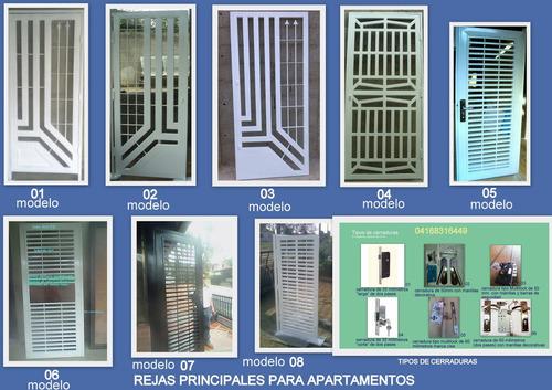 Rejas De Seguridad Para Casas O Apartamento Bs 10 000