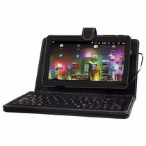 Tablet Phaser Pc-709s Wi-fi Tela 7 Vitrine + Capa Teclado