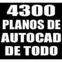 4300 Planos Profesionales Mas Librerias De Autocad