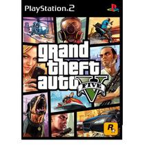 Patch Gta 5 (v) Para Playstation 2 Ps2 Frete Apenas R$ 6,00!