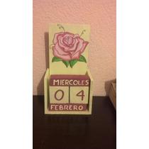 Recuerdos Xv Años, Calendarios Perpetuos De Madera