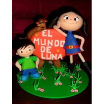 Adornos De Torta En Porcelana Fria- El Mundo De Luna