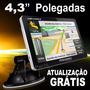 Navegador Gps 4.3 Polegadas Discovery Touch 3d Alerta Radar