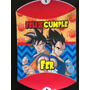 Piñata Personalizada Cumpleaños Cotillon Dragon Ball Z Goku
