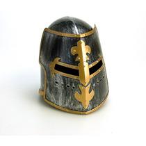 Casco Medieval Cruzadas Guerrero ,para Adulto Desmontable
