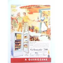Antiga Publicidade Geladeira A Querosene A Preferida Anos 50