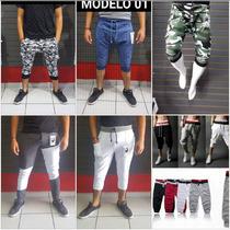 Pants 3/4 Capri Baggy Jogger Militar Envio Gratis Promocion