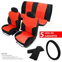 Kit Cubreasientos Universal + Cubrevolante + Almohadillas