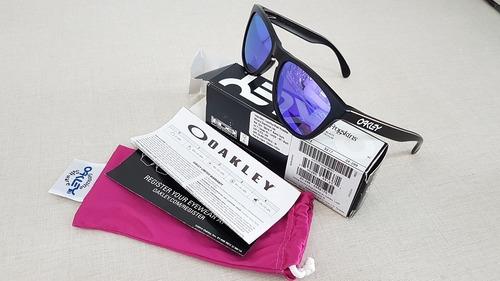 fdaf1776ea0b5 Oculos Oakley Frogskins Oo9013 55 Violet Iridium - R  399