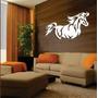 Quadro Para Sala - Churrasqueira Em Escultura De Mdf- Cavalo