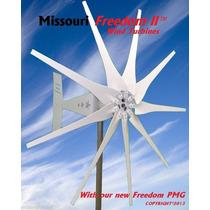 Turbina De Viento Eolica 2000w Freedom 2 Pmg Missouri