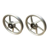 Jogo Rodas Em Liga Aluminio Titan Fan 150 04/13 Ks 6 Pontas