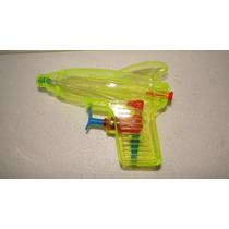 Pistola Lança Água De Plástico Transparente