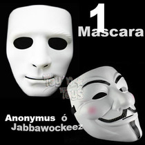 Mascara Vendetta V Venganza Anonymus O Jabbawockeez Hip Hop