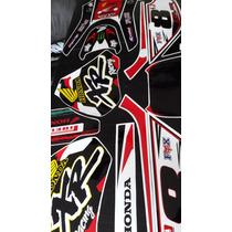 Calcos Para Honda Xr 600 Kit De Competicion