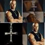 Collar Cruz Toretto Dominic Rapido Y Furioso Acero Inox