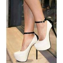 Sapatilha Sapatos Sandalias Salto Alto Feminino