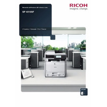 Multifuncional Ricoh Sp 4510sf - Nova