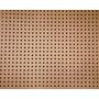 Placa Eucatex, Painel Perfurada, 0,80cm X 0,60cm X 2,5mm