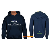 Sudadera Seattle Seahawks Tipo Nfl (personalizada) Nfst9001