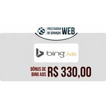 Cupom Bing Ads 330 Para Divulgação De Seu Negócio Economize.